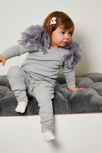 Load image into Gallery viewer, Mini Attire Flowers lounge suit GREY