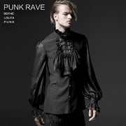 Black Palace Accessories Fake Shirt Collar