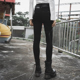 "Diablo War-hee"" series detachable loop denim jeans"