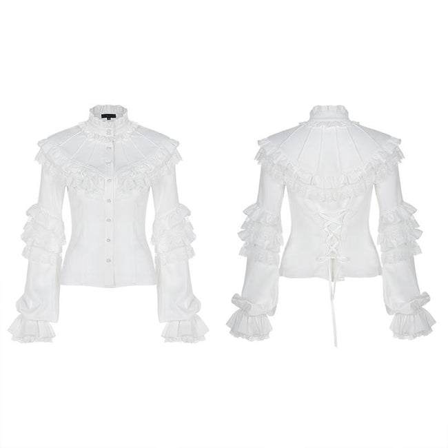 Lolita gorgeous lace shirt