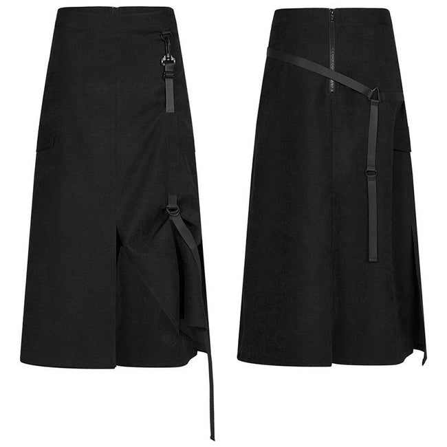 punk front centre open fork two wearing medium skirts