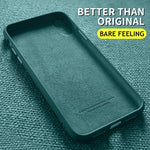 For iPhone 12 & SE 2020 Series Silicone Full Protection Slim Soft Cover