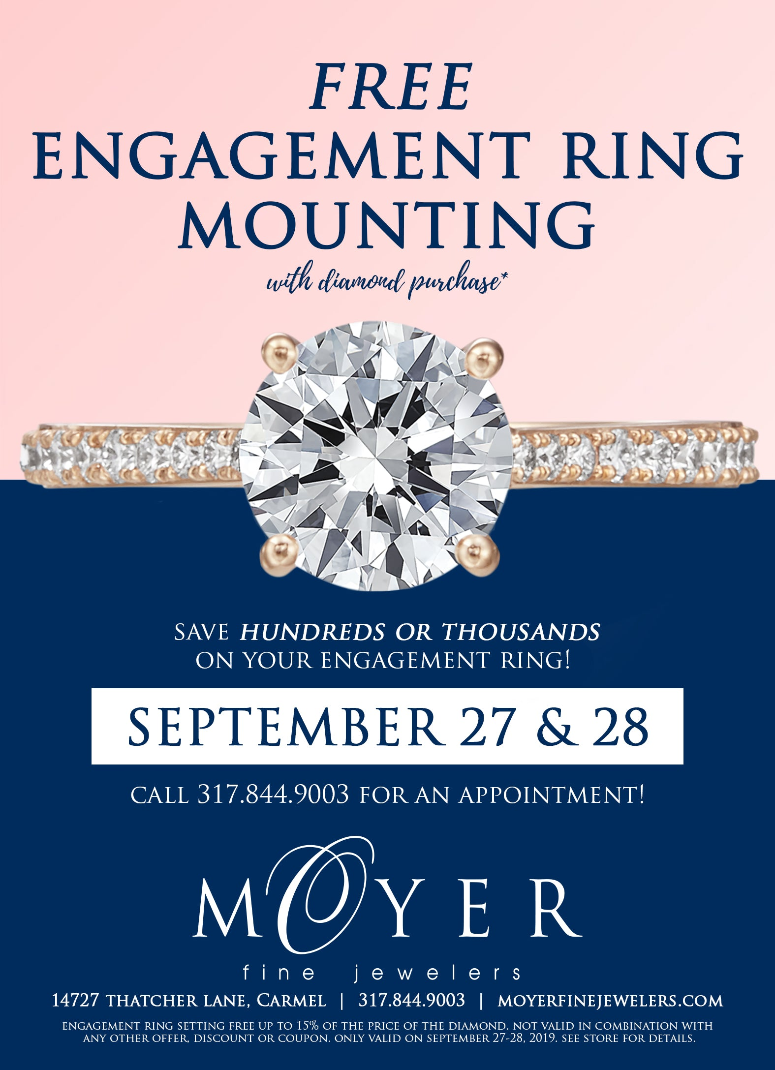 Engagement Ring Promotion
