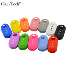 Load image into Gallery viewer, High Quality 3 Buttons Silicone Car Key Case
