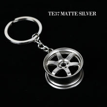 Load image into Gallery viewer, JDM Styled Mini Rim Key Chains