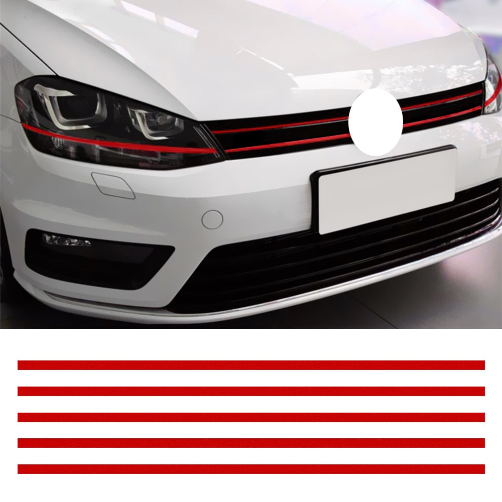 LEEPEE Car Strip Reflective Stickers/Grille Decals