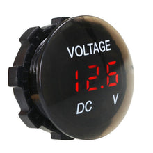 Load image into Gallery viewer, DC 12V-24V Digital Panel Voltmeter