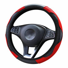Load image into Gallery viewer, Steering Wheel Cover  Breathable Anti Slip PU 37-38cm