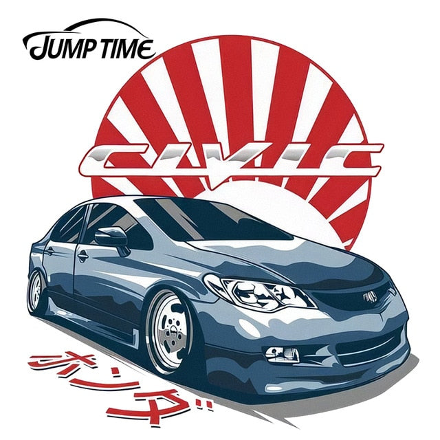 JumpTime Vinyl Sticker