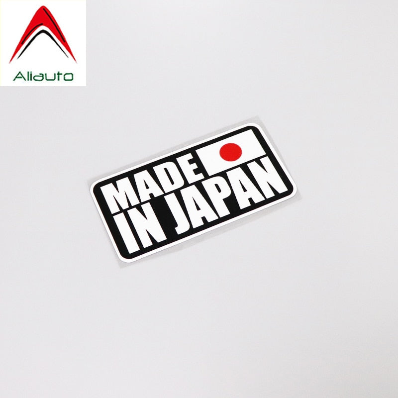 Aliauto Made In Japan  Decal