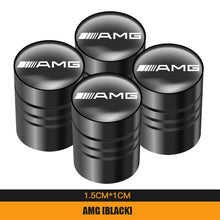 Load image into Gallery viewer, Metal Tire Valve Caps AMG Emblem For Mercedes Benz