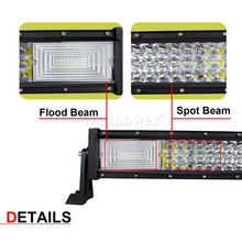 "Load image into Gallery viewer, Off-Road 3 Row 675W 52"" LED Lightbar"