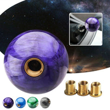 Load image into Gallery viewer, Marble Ball Shift knob With Adapters For Manual Car