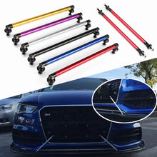 Load image into Gallery viewer, 2pcs Universal 200mm Adjustable Front Rear Bumper Lip Splitter Rods