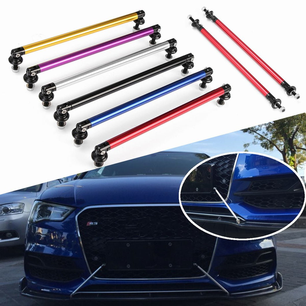2pcs Universal 200mm Adjustable Front Rear Bumper Lip Splitter Rods