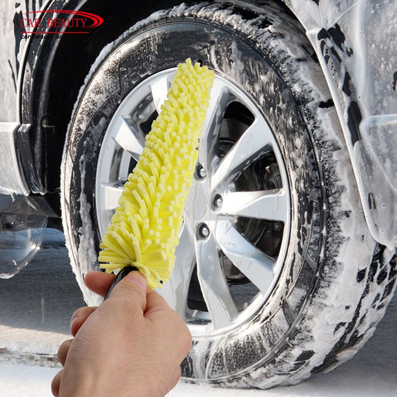 Wheel Cleaner Brush/Tire Rim Cleaning Tool