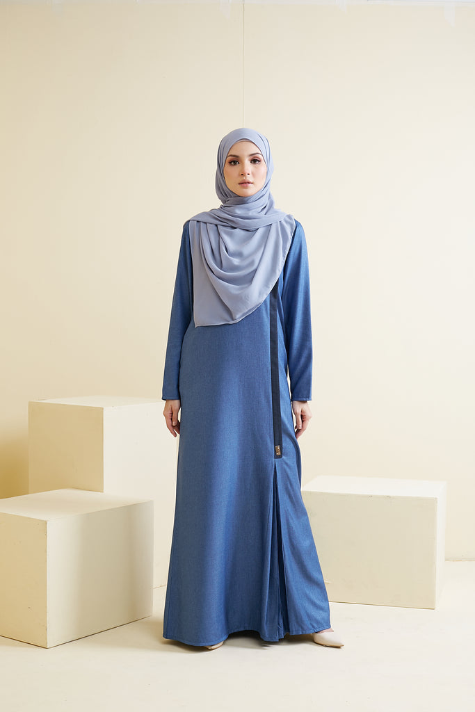 YASMEEN DRESS (YSD05 - TOPAZ BLUE)