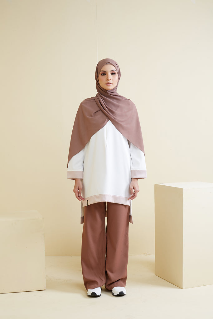 NAOMI TOP ( NMT01 - SANDY OFF WHITE )