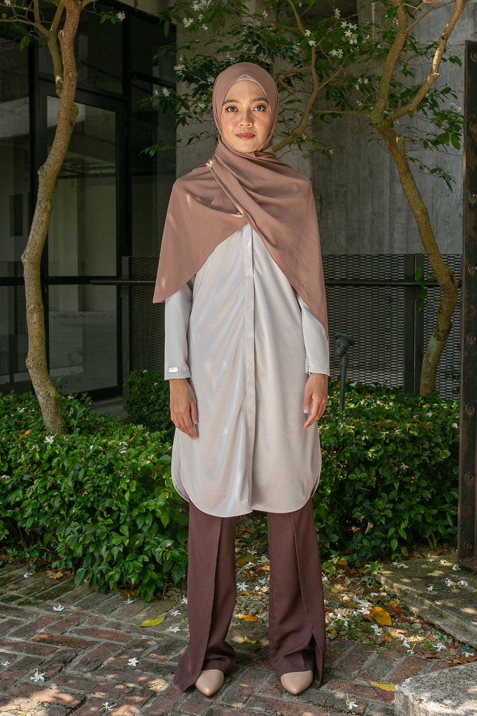 RANIA TUNIC VOL 4 (RNT402 - SILVER GREY)