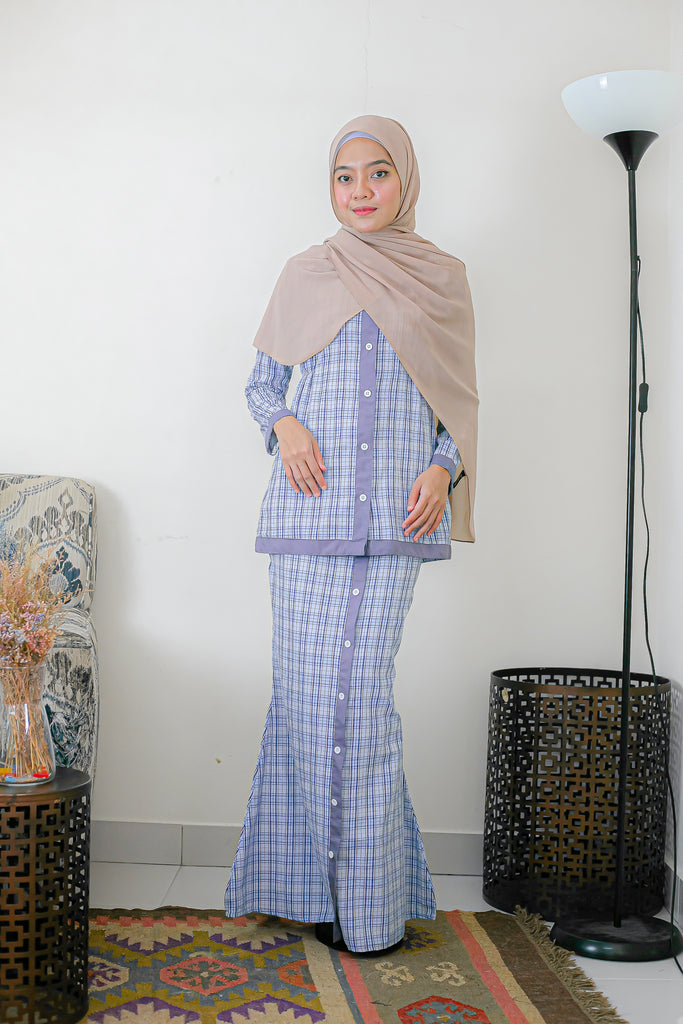 MASAYU KURUNG (MSK20 - GREY SKY CHECKS)