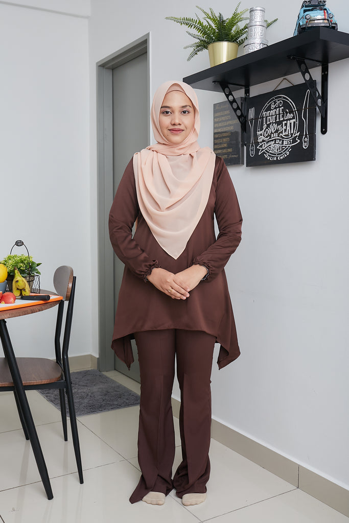 PALOMA TOP VOL 4 (PLT412 - CHOCO BROWN)