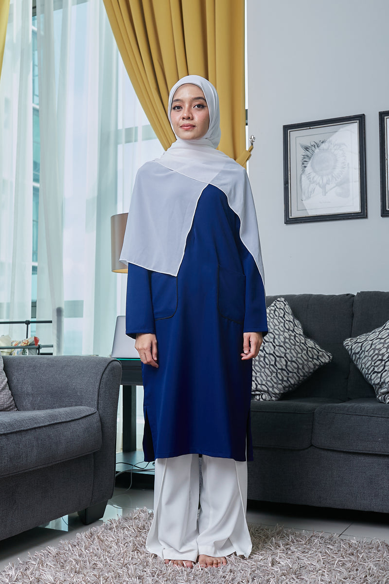 ARYNA TUNIC VOL 3 (ART309 - NAVY BLUE)