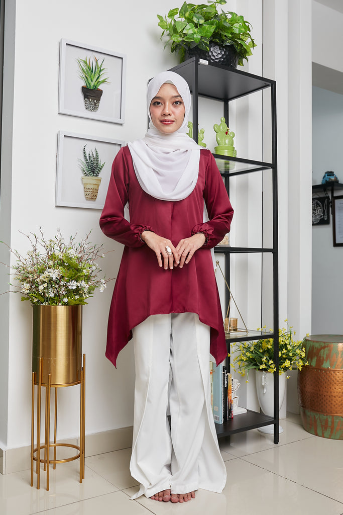PALOMA TOP VOL 4 (PLT407 - ROYAL MAROON)