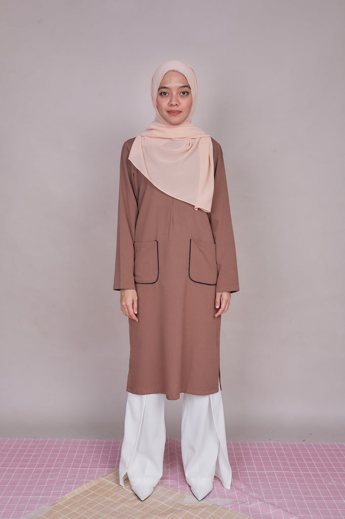 ARYNA TUNIC VOL 3 (ART304 - COCA BROWN)