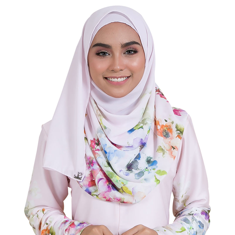 VERONEERA SHAWL (VRS03 - BLUSH PINK)