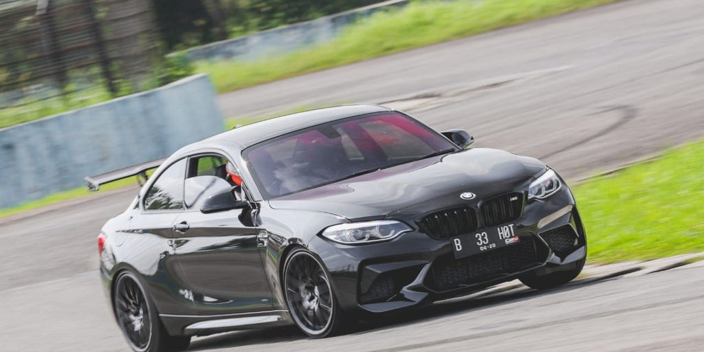How to turn your M2 into a track toy..