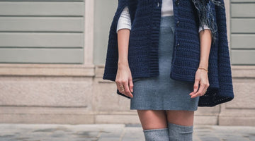 How to Stay Warm While Wearing a Skirt