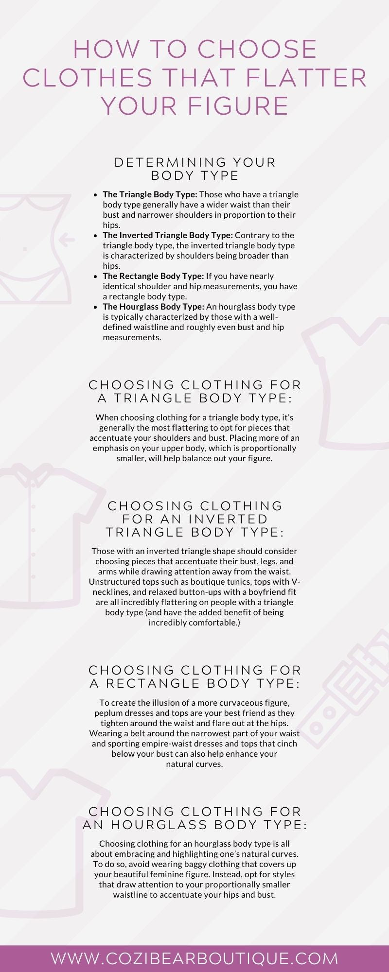 Choose Clothes That Flatter Your Figure