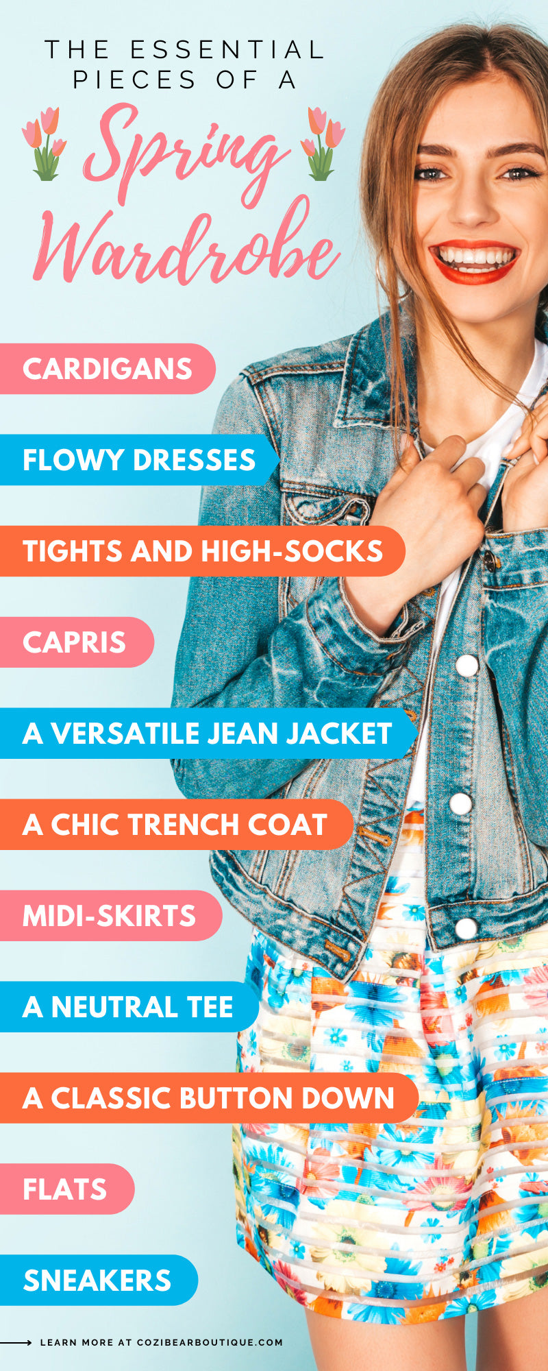 The Essential Pieces of a Spring Wardrobe