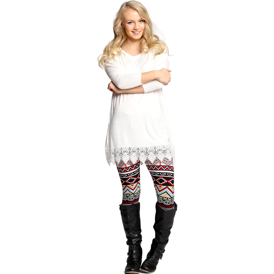 Crochet Tunic Dress - Cozi Bear Boutique