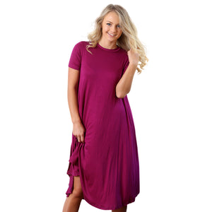 Everyday Tee Dress - Cozi Bear Boutique