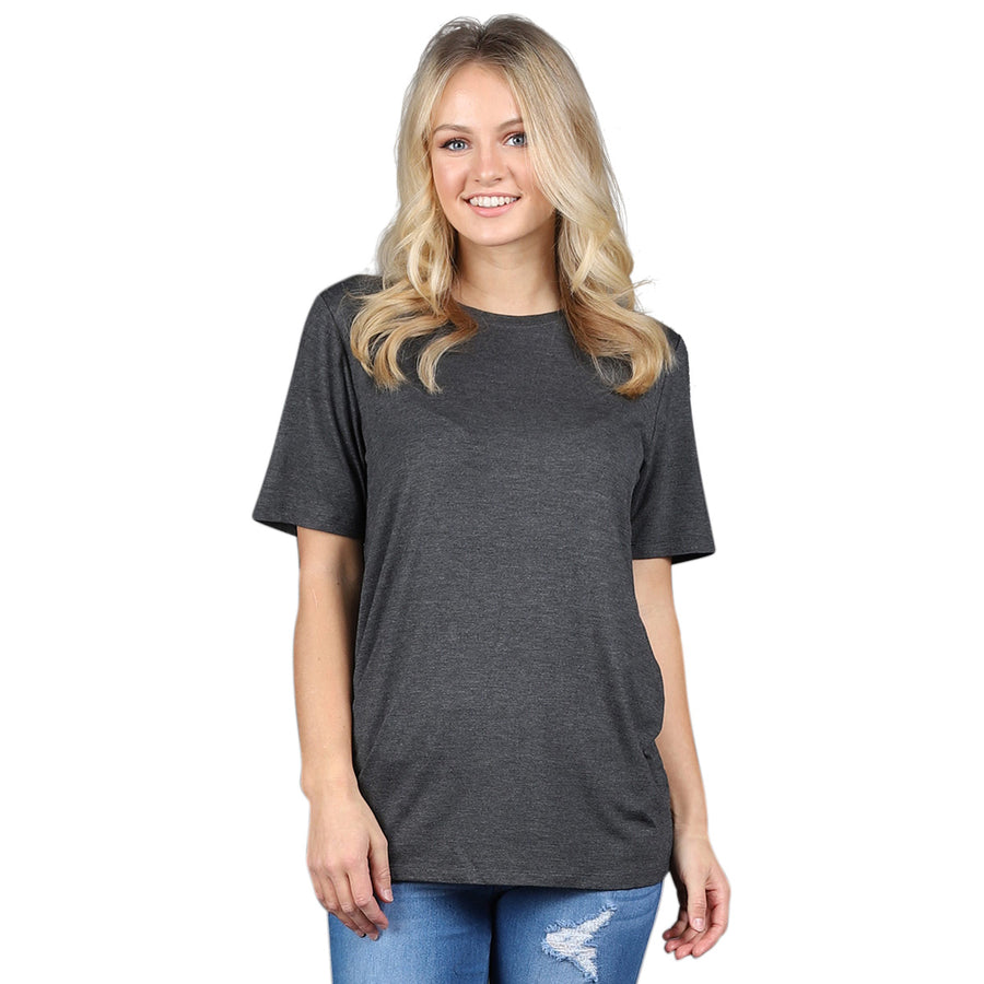 Plus Size Relaxed Fit Crew Neck - Cozi Bear Boutique