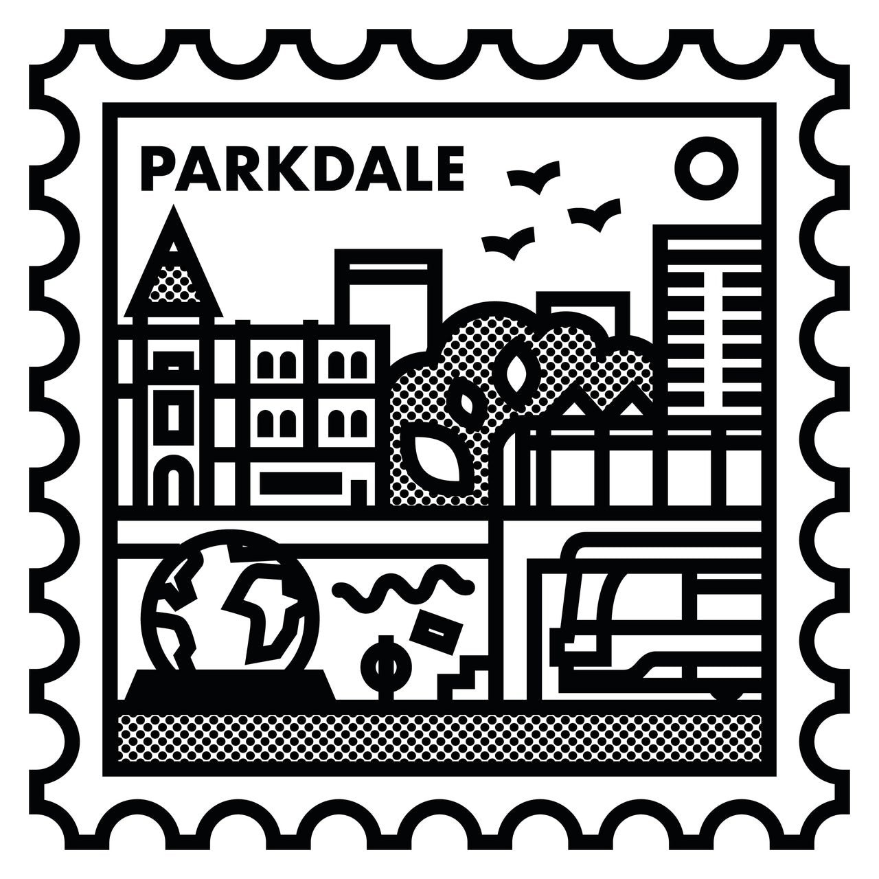 Neighbourhood Stamps -  Parkdale