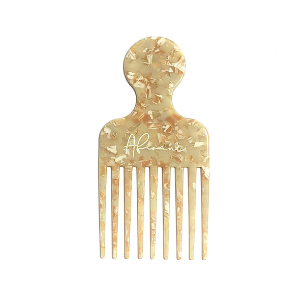 Afroani Cream hair pick