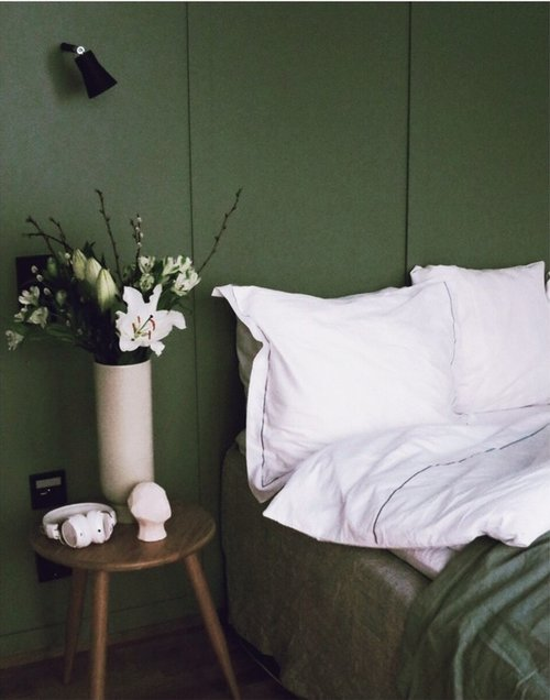 How to decorate the bedroom with Åsa Gramén