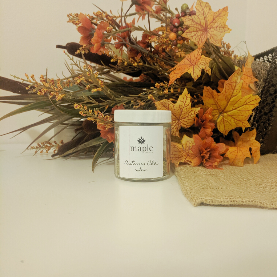 Autumn Chai Tea, Skin Therapy & Candle Set