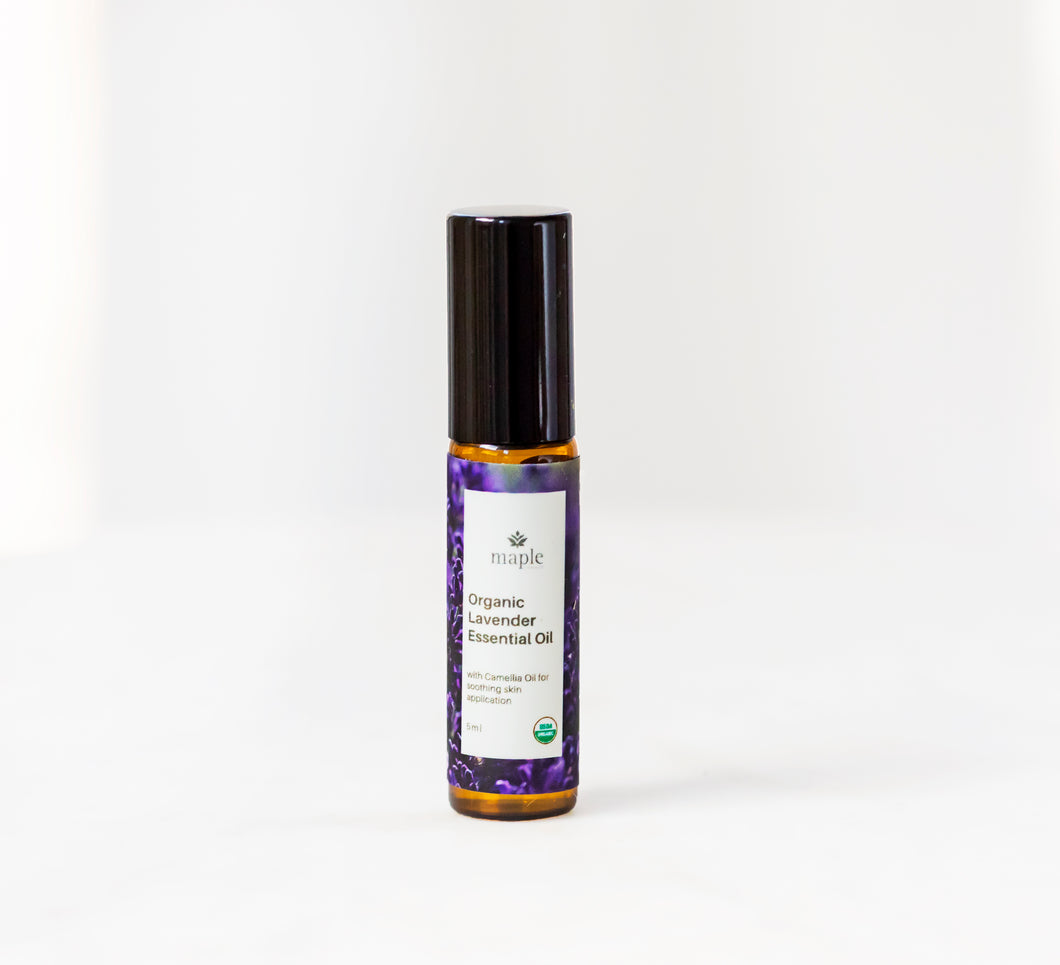 Organic Lavender Essential Oil: 5 ml