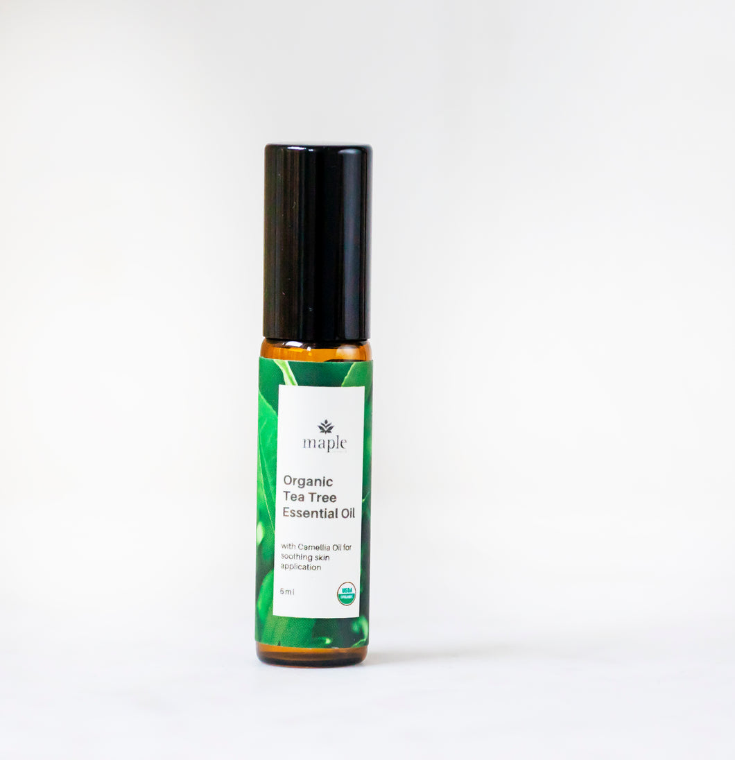 Organic Tea Tree Essential Oil: 5 ml