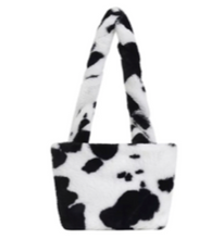 Load image into Gallery viewer, Y2K Aesthetic Mini Cow Printed Bag