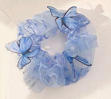 Load image into Gallery viewer, Y2K Butterfly Scrunchies
