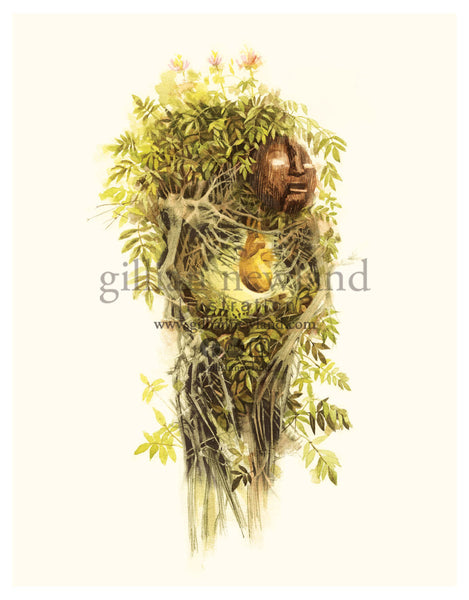 Green Man Series: Elderflower