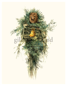 Green Man Series: Juniper