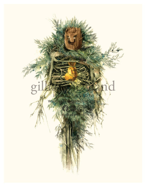 ~Green Man Series: Juniper