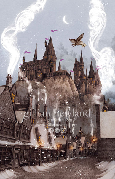 Twilight in Hogsmead