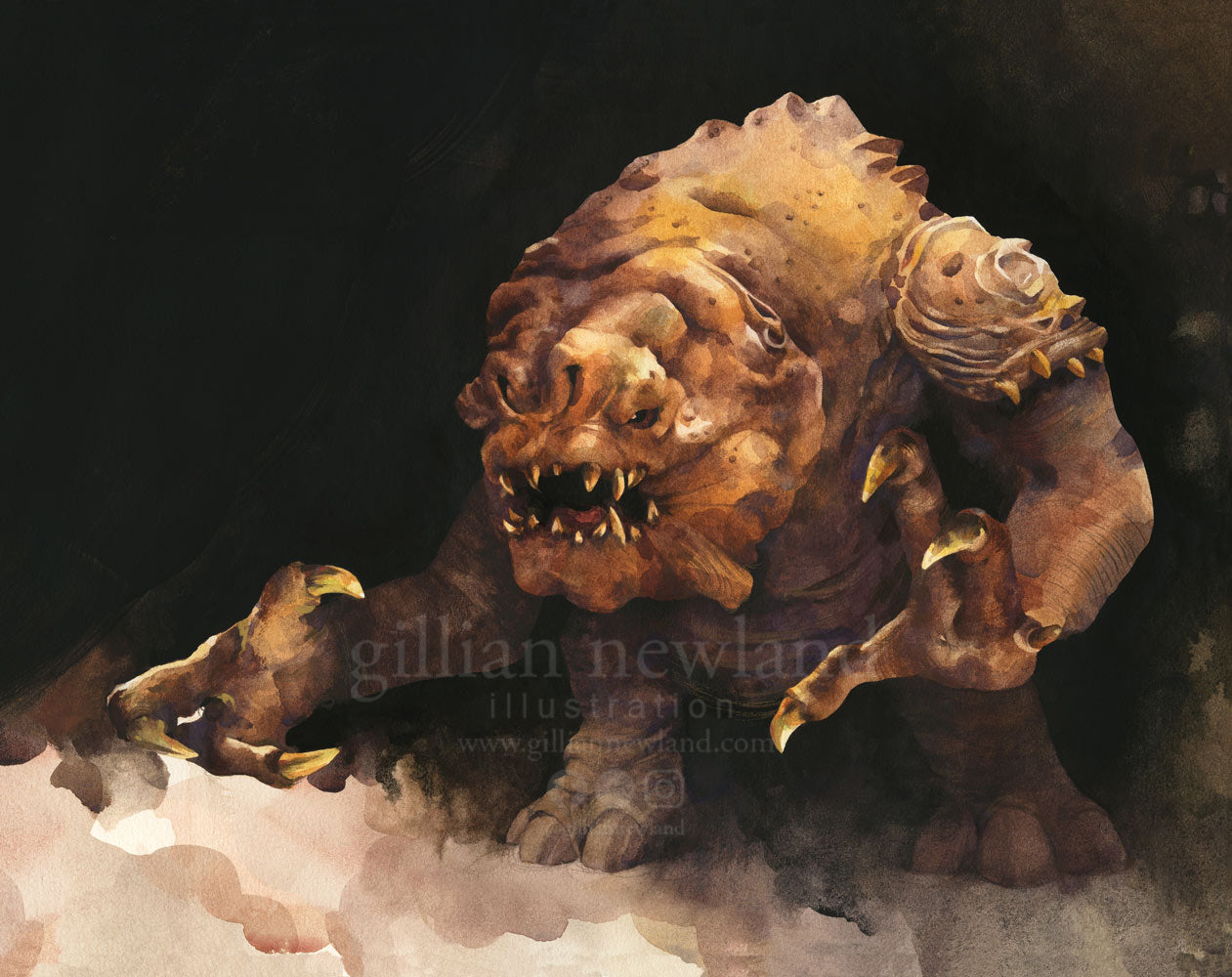 Watercolour Rancor