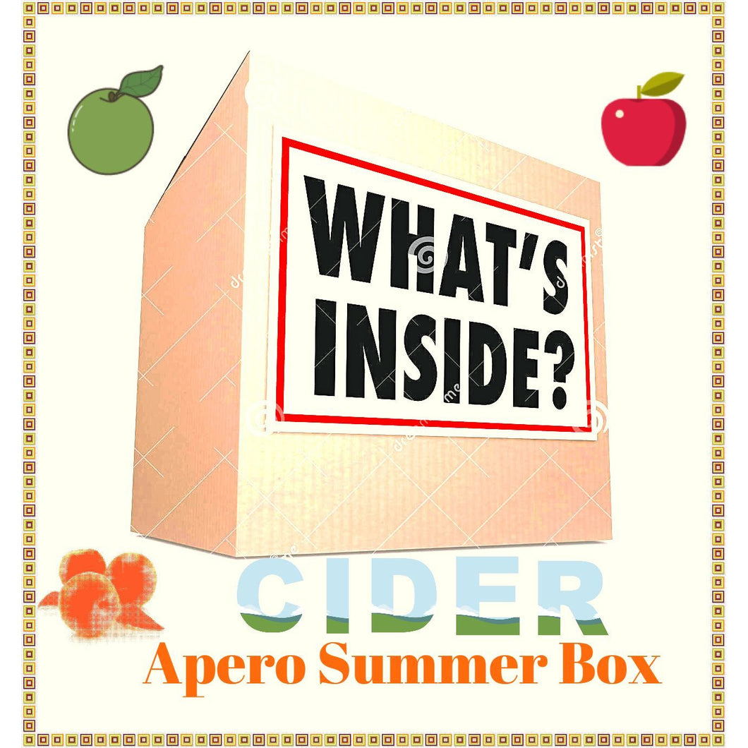 The Summer Cider apero box 12 pack